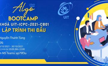 ALGO BOOTCAMP 2021 - Khoá UIT-ICPC-2021-CB01 - Lập trình thi đấu