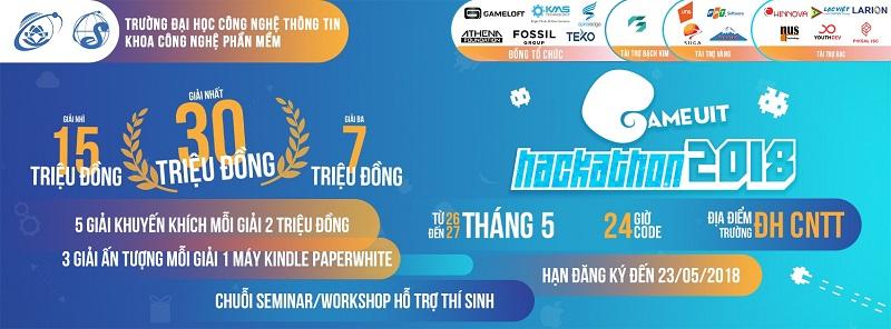 Chính thức phát động cuộc thi GameUIT Hackathon 2018