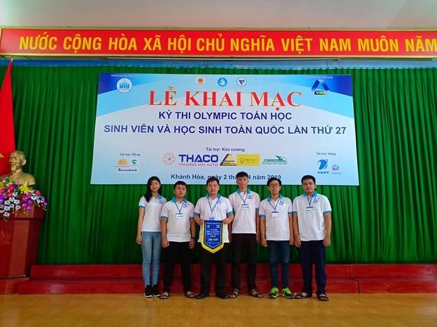 Đội tuyển Olympic Toán sinh viên UIT tham dự kỳ thi